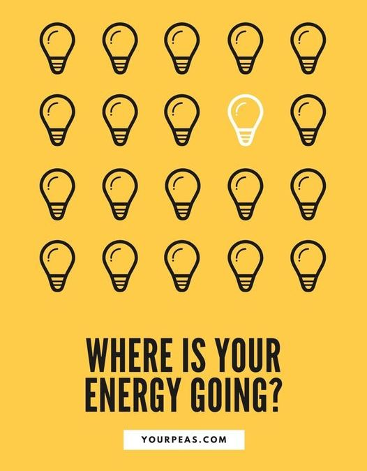 Where is your energy going?